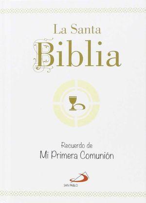 LA SANTA BIBLIA- RECUERDO DE MI PRIMERA COMUNIÓN
