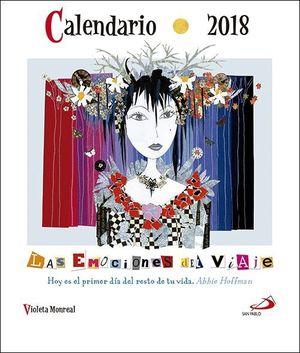CALENDARIO CD 2018 LAS EMOCIONES DEL VIAJE