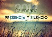 CALENDARIO PARED PRESENCIA Y SILENCIO 2019