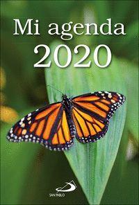 MI AGENDA 2020 (VERDE MARIPOSA)