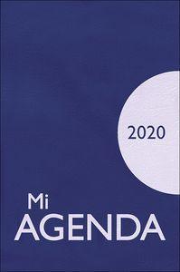 MI AGENDA 2020 (BOLSILLO AZUL PLASTICO)
