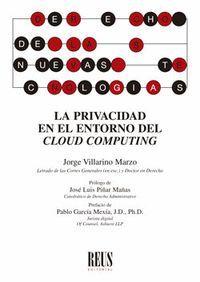 LA PRIVACIDAD EN EL ENTORNO DEL CLOUD COMPUTING