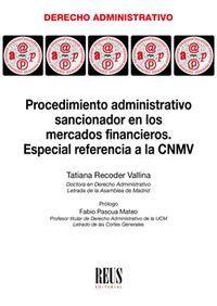 PROCEDIMIENTO ADMINISTRATIVO SANCIONADOR EN LOS MERCADOS FINANCIEROS