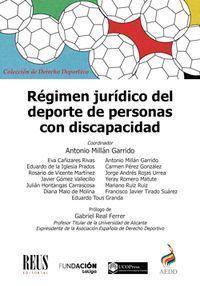RÉGIMEN JURÍDICO DEL DEPORTE DE PERSONAS CON DISCAPACIDAD
