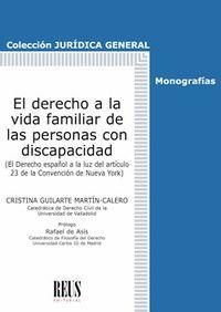 EL DERECHO A LA VIDA FAMILIAR DE LAS PERSONAS CON DISCAPACIDAD