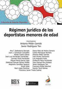 REGIMEN JURIDICO DE LOS DEPORTISTAS MENORES DE EDA