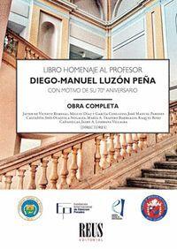 LIBRO HOMENAJE AL PROFESOR DIEGO-MANUEL LUZON PEÑA 2VOLS