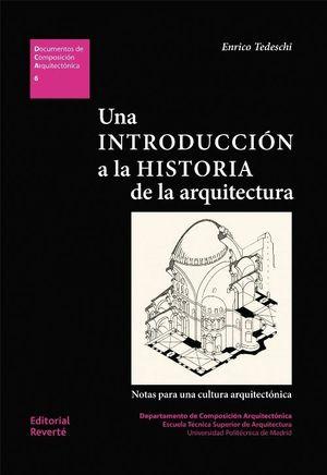 UNA INTRODUCCIÓN A LA HISTORIA DE LA ARQUITECTURA.