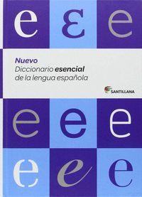NUEVO DICCIONARIO ESENCIAL DE LA LENGUA ESPAÑOLA