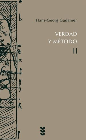 VERDAD Y METODO, VOL.II (T)