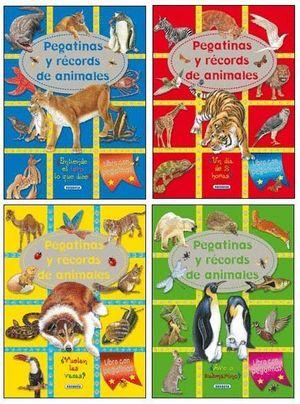 PEGATINAS Y RECORDS ANIMALES