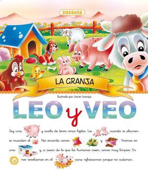 LEO Y VEO... LA GRANJA - PICTOGRAMAS (T)