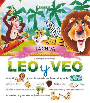 LEO Y VEO... LA SELVA - PICTOGRAMAS (T)