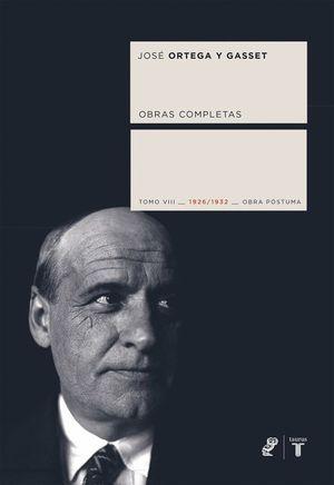 OBRAS COMPLETAS, TOMO VIII 1926-1932