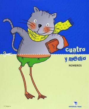 CUATRO Y MEDIO - CUADERNO DE NÚMEROS