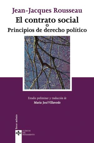 EL CONTRATO SOCIAL O PRINCIPIOS DE DERECHO POLITICO