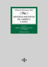 SISTEMAS POLITICOS DE AMERICA LATINA VOL. II
