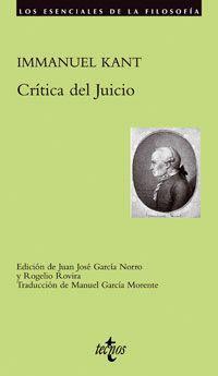 CRITICA DEL JUICIO