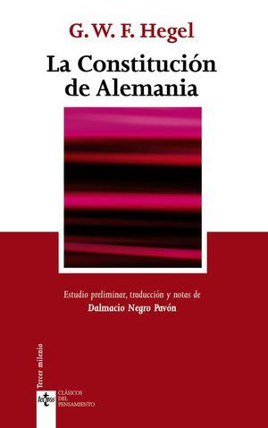 LA CONSTITUCION DE ALEMANIA