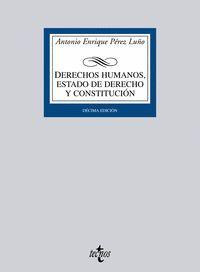 DERECHOS HUMANOS ESTADO DE DERECHO Y CONSTITUCION