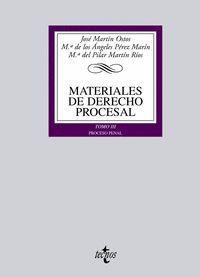 MATERIALES DE DERECHO PROCESAL