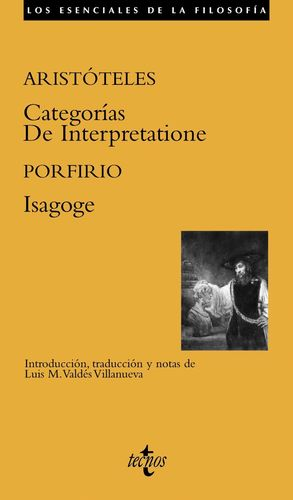CATEGORIAS/DE INTERPRETATIONE/ISAGOGE