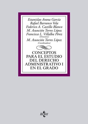 CONCEPTOS PARA EL ESTUDIO DEL DERECHO ADMINISTRATIVO I EN EL GRADO
