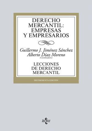 DERECHO MERCANTIL: EMPRESAS Y EMPRESARIOS