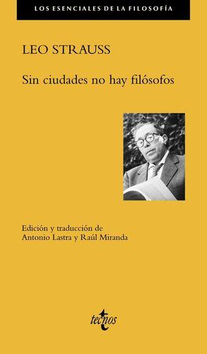 SIN CIUDADES NO HAY FILOSOFOS
