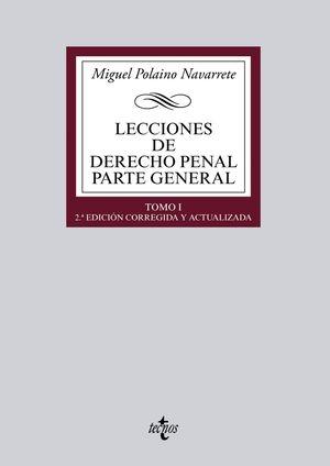 LECCIONES DE DERECHO PENAL PARTE GENERAL TOMO I 2ªED. 2015