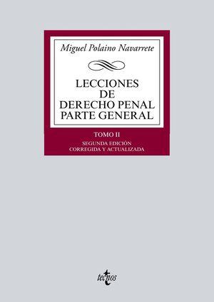 LECCIONES DE DERECHO PENAL TOMO II PARTE GENERAL