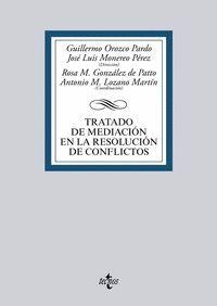 TRATADO DE MEDIACION EN LA RESOLUCION DE CONFLICTOS
