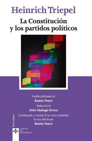 LA CONSTITUCION Y LOS PARTIDOS POLITICOS
