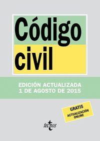 CODIGO CIVIL (ACTUALIZADA 1 DE AGOSTO 2015)