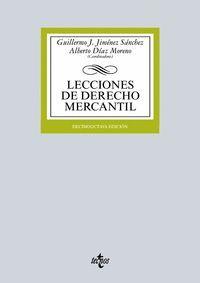 LECCIONES DE DERECHO MERCANTIL (2015)