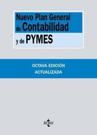NUEVO PLAN GENERAL DE CONTABILIDAD Y DE PYMES 2017 8ªED.
