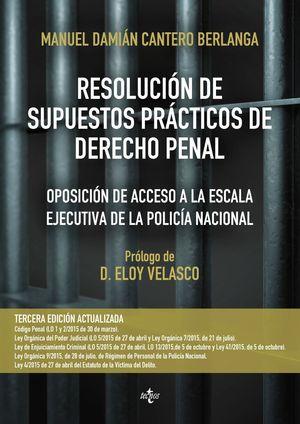 RESOLUCION DE SUPUESTOS PRACTICOS DE DERECHO PENAL 3ªED.2015