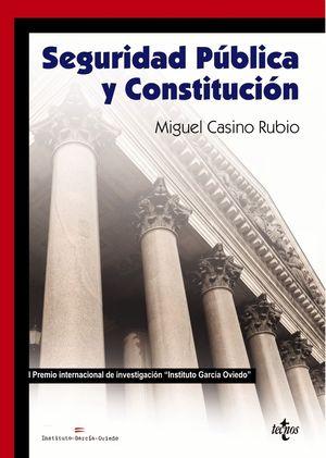 SEGURIDAD PUBLICA Y CONSTITUCION