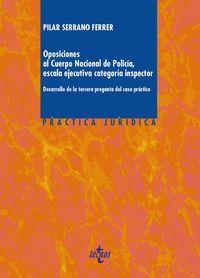 OPOSICIONES AL CUERPO NACIONAL DE POLICIA, ESCALA EJECUTIVA