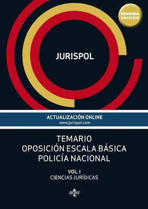 TEMARIO OPOSICION ESCALA BASICA POLICIA NACIONAL 2º EDICION