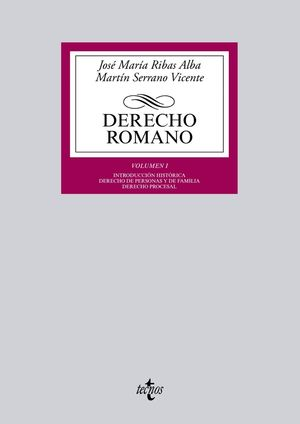 DERECHO ROMANO VOLUMEN I 2015