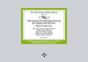 NOCIONES FUNDAMENTALES DE DERECHO PENAL VOL.II PARTE ESPECIAL
