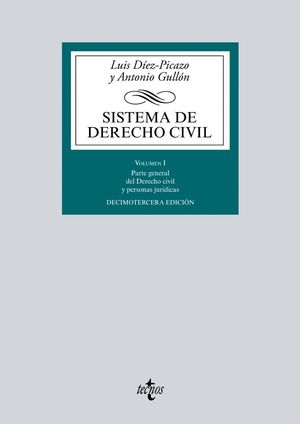 SISTEMA DE DERECHO CIVIL. VOLUMEN I