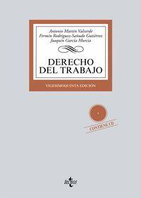 DERECHO DEL TRABAJO +CD 25ªED. 2016