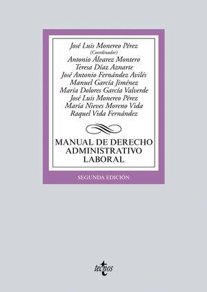 MANUAL DE DERECHO ADMINISTRATIVO LABORAL 2ªEDICION