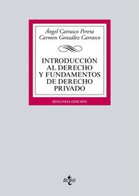 INTRODUCCION AL DERECHO Y FUNDAMENTOS DE DERECHO PRIVADO