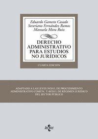 DERECHO ADMINISTRATIVO PARA ESTUDIOS NO JURIDICOS