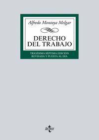 DERECHO DEL TRABAJO (2016)