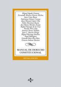 MANUAL DE DERECHO CONSTITUCIONAL 7ºED. 2016