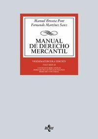 MANUAL DE DERECHO MERCANTIL II (2016)